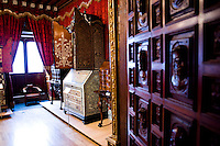 The Bello Museum, a private collection of furniture, paintings and other antique collectables. City of Puebla, Mexico
