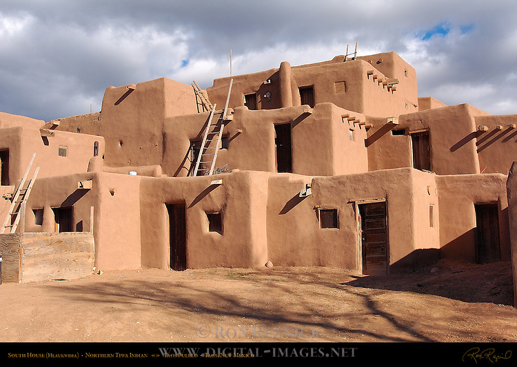 South House Hlaukwima, Northern Tiwa Indian, Taos Pueblo, Taos, New Mexico