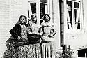 Iran 1950. From left to right, Ashraf, sister of Hassan Shatavi and right, Khadijeh Shatavi, the mother.<br /> <br /> Iran 1950. De gauche a droite, Ashraf, soeur de Hassan Shatavi et a droite, sa mere, Khadijeh Shatavi