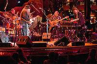 Bill Kreutzmann, Papa Mali, George Porter Jr. & Matt Hubard. 7 Walkers in Concert in The Wolfs Den at Mohegan Sun Casino on December 9, 2010