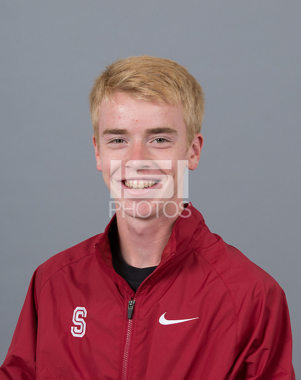 STANFORD, CA - SEPTEMBER 24, 2014--Jack Keelan, with Stanford University Cross Country Team