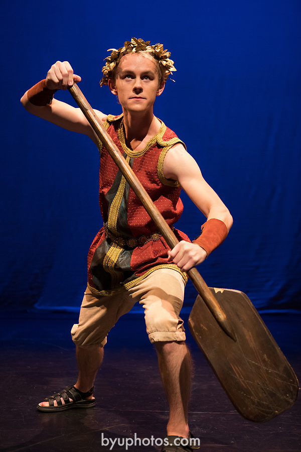 1705-11 205<br /> <br /> Jason (Dylan Wright) in BYU&rsquo;s family production of &ldquo;Agonautika&rdquo; by Mary Zimmerman.<br /> <br /> 1705-11 TMA Argonautika<br /> <br /> May 3, 2017<br /> <br /> Photo by  Aaron Cornia/BYU<br /> <br /> Copyright BYU Photo 2017<br /> All Rights Reserved<br /> photo@byu.edu  <br /> (801)422-7322