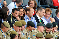 JUL 29 Royals at Commonwealth Games 2014