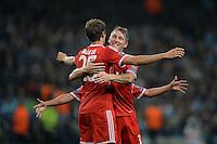 Fussball Champions League 2013/14: Manchester City - FC Bayern Muenchen