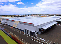 Coastal Roofing Pty Ltd 16,000sqm roof for Fielders Pty Ltd,I took the photograph from on top of a 30m cherry picker.