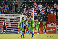 Carson, California - Wednesday, Sept. 3, 2014: The Seattle Sounders defeated Chivas USA 4-2 during a Major League Soccer (MLS) match at StubHub Center stadium.