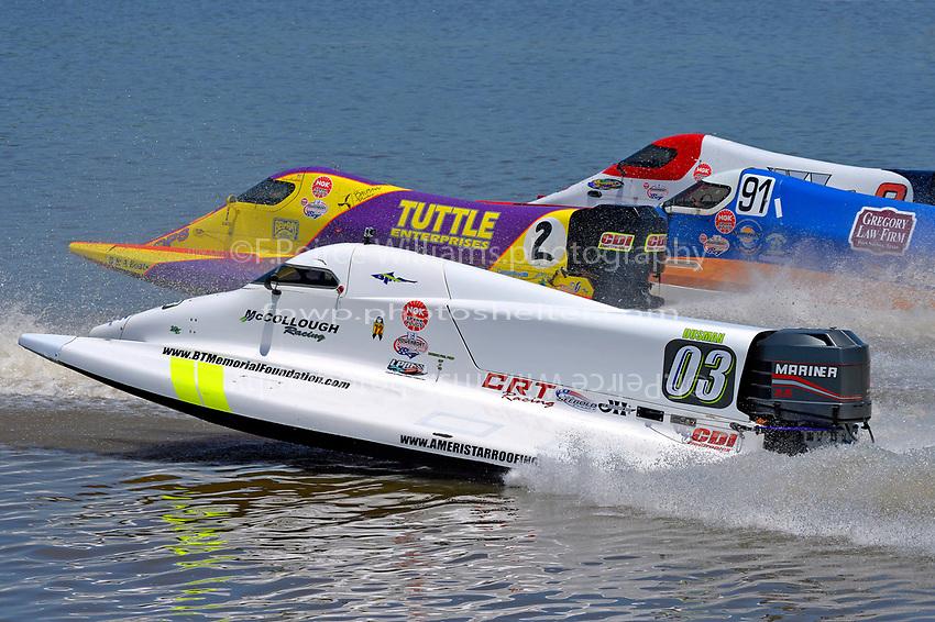 Dustin Terry (#03), Tracy Hawkins (#2), David Johnigan (#91) and Mike Schubert (#8)           (Formula 1/F1/Champ class)