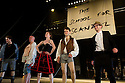 """London, UK. 19/05/2011.  """"School for Scandal"""" opens at the Barbican. Photo credit should read Jane Hobson"""