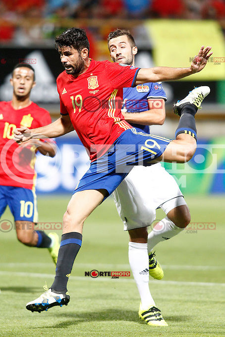 Spain's Diego Costa during FIFA World Cup 2018 Qualifying Round match. September 5,2016.(ALTERPHOTOS/Acero) /NORTEPHOTO