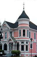Eureka CA:  Carson  (The Younger)  House. Samuel & Joseph C. Newsom, 1887.  Photo '83.