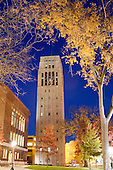 11/2005 Burton Tower at night.