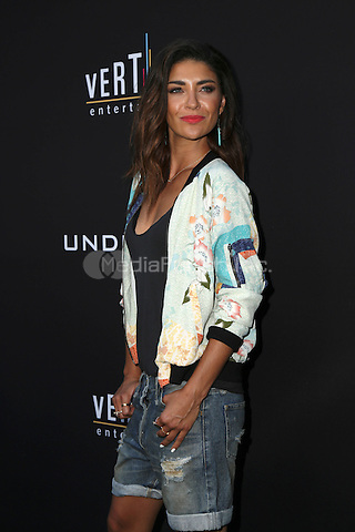 HOLLYWOOD, CA - JULY 11: Jessica Szohr at the premiere of Undrafted at the Arclight in Hollywood, California on July 11, 2016. Credit: David Edwards/MediaPunch