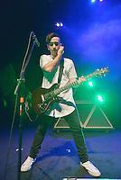 MIAMI BEACH, FL - NOVEMBER 13: Brandon Brown of VERIDIA performs on stage at Fillmore Miami Beach on November 13, 2016 in Miami Beach, Florida. Credit: MPI10 / MediaPunch