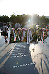 The Korean War Memorial in Washington, D.C. during early July 2008.