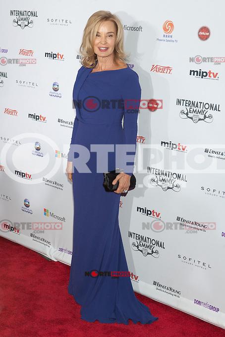 NEW YORK, NY - NOVEMBER 19: Jessica Lange at the 40th International Emmy Awards in New York. November 19, 2012. © Diego Corredor/MediaPunch Inc. /NortePhoto