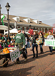 From the Farm to the Table wheels their fall harvest during the homecoming parade on Oct. 11, 2014.