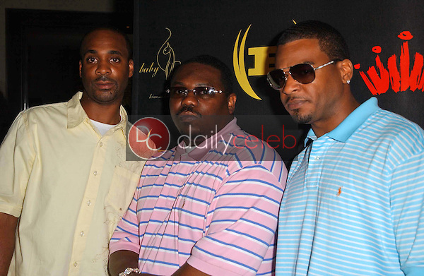 Vidal Davis with Beanie Segal and Dre<br />