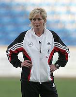 MAR 13, 2006: Faro, Portugal:  Silvia Neid