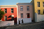 00025_14, Bokaap, Capetown, South Africa, 1996, SOUTH_AFRICA-10005NF. Mid-17th century neighborhood settled by muslims.