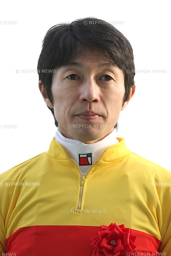 Yutaka Take,<br /> JANUARY 25, 2015 - Horse Racing :<br /> Jockey Yutaka Take after riding Copano Rickey to win the Tokai TV Hai Tokai Stakes at Chukyo Racecourse in Aichi, Japan. (Photo by Eiichi Yamane/AFLO)
