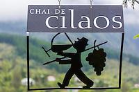 France, &icirc;le de la R&eacute;union, Parc national de La R&eacute;union, class&eacute; Patrimoine Mondial de l'UNESCO, Cirque de CIlaos, Cilaos: Enseigne du Chai de Cilaos, Le Cilaos est un vin de pays,  vin de montagne produit dans le cirque de Cilaos, &agrave; la R&eacute;union. C'est l'un des seuls vins fran&ccedil;ais produits dans l'h&eacute;misph&egrave;re sud. Il b&eacute;n&eacute;ficie d'une IGP.<br />     //  France, Reunion island (French overseas department), Parc National de La Reunion (Reunion National Park), listed as World Heritage by UNESCO, cirque of Cilaos,  Cilaos: Teaches Chai Cilaos, The Cilaos is a wine country, mountain wine produced in Cilaos, Reunion. This is one of the only French wines produced in the southern hemisphere. It enjoys an IGP.