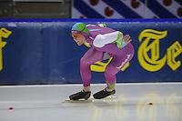 SCHAATSEN: HEERENVEEN: 16-01-2016 IJsstadion Thialf, Trainingswedstrijd Topsport, Lennart Velema, ©foto Martin de Jong