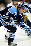 30 January 2010: University of Maine Black Bears' defenseman Josh Van Dyk, a Junior from Woodstock, Ontario, in action against the University of Vermont Catamounts at Gutterson Fieldhouse in Burlington, Vermont. The Black Bears and the Catamounts played to a 4-4 tie in the second game of their America East weekend series. Mandatory Credit: Ed Wolfstein Photo