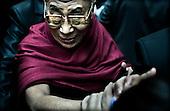 Dalai Lama by Adam Lach