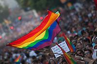 Gay Pride day parade 2013  held in Madrid- Spain
