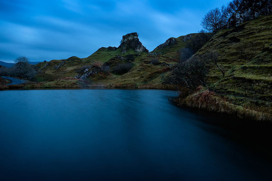SCOTLAND - CIRCA APRIL 2016: Fairy Glen in Skye an Island in Scotland