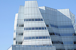 Frank Gehry building in New York City. Inter Active Corp/Barry Diller Building.