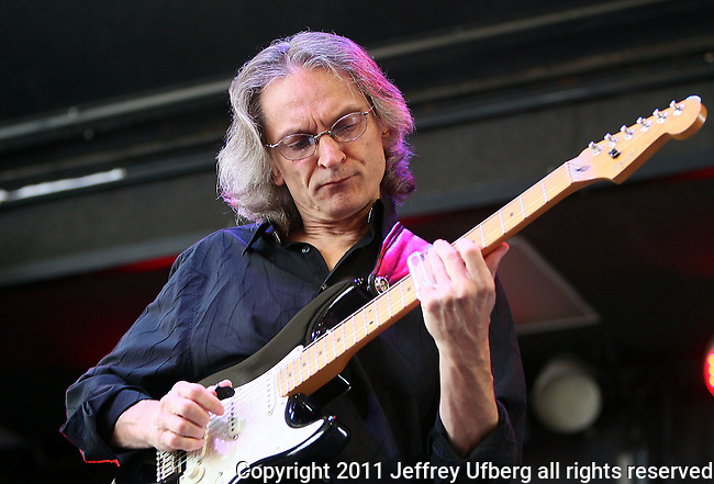 "June 4, 2011 Augusta, N.J.: Singer / Musician Sonny Landreth performs ""Michael Arnone's Crawfish Festival"" on Sussex County Fairgrounds on June 4, 2011 in Augusta, N.J."