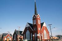 1986 January ..Redevelopment.Church Street..AME ZION CHURCH...NEG#.NRHA#..