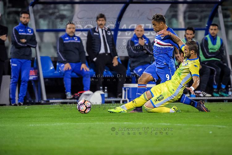 Luis Muriel (Sampdoria) during the Italian Serie A football match Pescara vs Sampdoria on October 15, 2016, in Pescara, Italy. Photo Adamo Di Loreto/BuenaVista*photo
