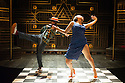 London, UK. 23.10.2014. A HARLEM DREAM choreographed by Ivan Blackstock, opens in the Maria, at the Young Vic. Picture shows: Ivan Blackstock and Robia Milliner Brown. Photograph © Jane Hobson.
