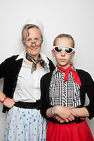 Sally Richardson and Tahlai Richardson 12 The 2012 Historic Houses Trust of NSW annual Fifties Fair at Rose Seidler House, Sydney. Picture James Horan