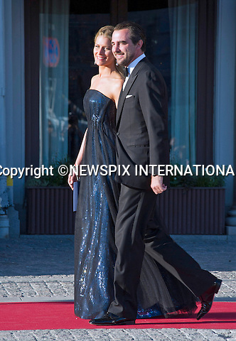 PRINCES NIKOLAOS AND PRINCESS TATIANA OF GREECE<br /> attend a Pre-Wedding Dinner for Princess Madeleine and Christopher O'Neill at the Grand Hotel, Stockholm, Sweden_07/06/2013<br /> Mandatory Credit Photo: &copy;Dias/NEWSPIX INTERNATIONAL<br /> <br /> **ALL FEES PAYABLE TO: &quot;NEWSPIX INTERNATIONAL&quot;**<br /> <br /> IMMEDIATE CONFIRMATION OF USAGE REQUIRED:<br /> Newspix International, 31 Chinnery Hill, Bishop's Stortford, ENGLAND CM23 3PS<br /> Tel:+441279 324672  ; Fax: +441279656877<br /> Mobile:  07775681153<br /> e-mail: info@newspixinternational.co.uk
