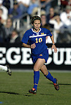 05 December 2004: Iris Mora. Notre Dame defeated UCLA 4-3 on penalty kicks after the game ended in a 1-1 overtime tie at SAS Stadium in Cary, NC in the championship match in the 2004 NCAA Division I Women's College Cup..
