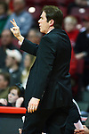 22 February 2012:  Tim Jankovich during an NCAA Missouri Valley Conference mens basketball game between the Wichita State Shockers and the Illinois State Redbirds in Redbird Arena, Normal IL