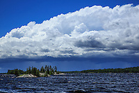 &quot;Storm Cloud over Basswood Lake&quot;<br />