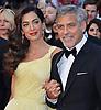 Clooneys, Roberts & Chastian At Money Monster Screening