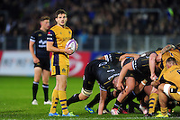 Will Cliff of Bristol Rugby looks on during a break in play. European Rugby Challenge Cup match, between Bath Rugby and Bristol Rugby on October 20, 2016 at the Recreation Ground in Bath, England. Photo by: Patrick Khachfe / Onside Images