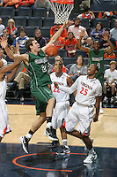 CHARLOTTESVILLE, VA- NOVEMBER 26:   during the game on November 26, 2011 at the John Paul Jones Arena in Charlottesville, Virginia. Virginia defeated Green Bay 68-42. (Photo by Andrew Shurtleff/Getty Images) *** Local Caption ***
