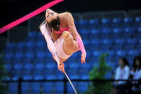 Fanni Forray of Hungary performs at 2010 World Cup at Portimao, Portugal on March 13, 2010.  (Photo by Tom Theobald).