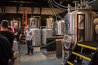 Copyright Justin Cook   July 24, 2013<br /> <br /> The tanks  at Crank Arm Brewery in Raleigh, N.C.