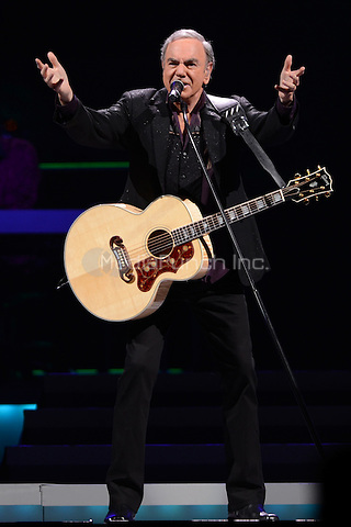 SUNRISE, FL - JUNE 1 : Neil Diamond performs at the BankAtlantic Center on June 1, 2012 in Sunrise Florida. Credit MediaPunch Inc.