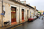 Stock photo of an Old city street in Limassol street Horizontal