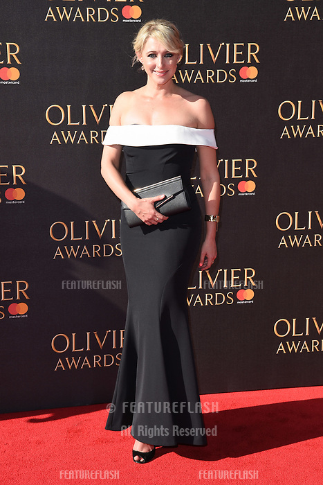Ali Bastian at The Olivier Awards 2017 at the Royal Albert Hall, London, UK. <br /> 09 April  2017<br /> Picture: Steve Vas/Featureflash/SilverHub 0208 004 5359 sales@silverhubmedia.com