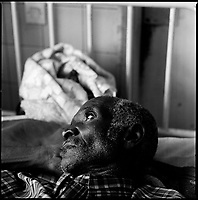 Huambo, Angola, May, 24, 2006.More than 300 TB patients live in Huambo State Sanatorium, hundreds more are outside patients. TB is endemic in the region, fueled by poverty, malnutrition, inadequate hygiene and the rapid spreading of HIV/AIDS since the end of the civil war in 2002.