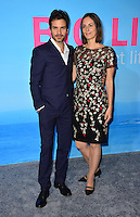 Santiago Cabrera &amp; Anna Marcea at the premiere for HBO's &quot;Big Little Lies&quot; at the TCL Chinese Theatre, Hollywood. Los Angeles, USA 07 February  2017<br /> Picture: Paul Smith/Featureflash/SilverHub 0208 004 5359 sales@silverhubmedia.com
